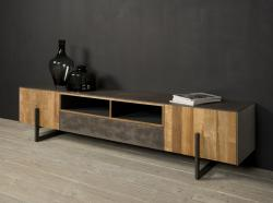 Ora TV stand 2 drs. 1 dwr. € 1199,-