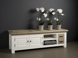 Parma tv dressoir white 190cm. € 575,-