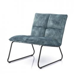 Fauteuil Ruby blauw adore € 249,-