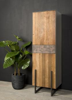 Ora Cabinet small 2 drs. 1 dwrs. left € 1199,-